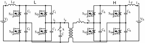 Untitled-5 P1-A bidirectional DC-DC converter for renewable energy systems-2009-پروژه آماده برق انجام شده با متلب