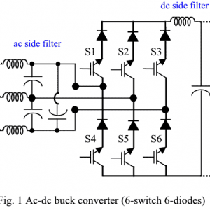 159- A Single-Input Single-Output Approach by using Minor-Loop Voltage Feedback Compensation with Modified SPWM Technique for Three-Phase AC–DC Buck Converter2013- شبیه سازی آماده مقاله