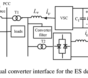 P253-Design Study of a Converter Interface Interconnecting Energy Storage With the DC Link of a StatCom-2011-پروژه آماده برق انجام شده با متلب