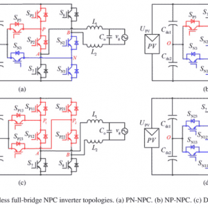 P257-A Family of Neutral Point Clamped Full-Bridge Topologies for Transformerless Photovoltaic Grid-Tied Inverters-2013
